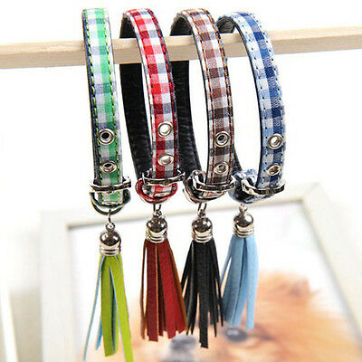 Adjustable Pet Collars For Small Dog Neck Soft Puppy Cat Strap Collar Necklace