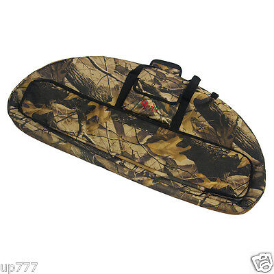 """38""""×19"""" Compound Hunting Bow Case Archery Shooting Camo Carrying Bag Large Space"""