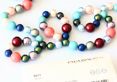 Wholesale Genuine SWAROVSKI 5811 Large Round Pearls Crystals * Many Colors