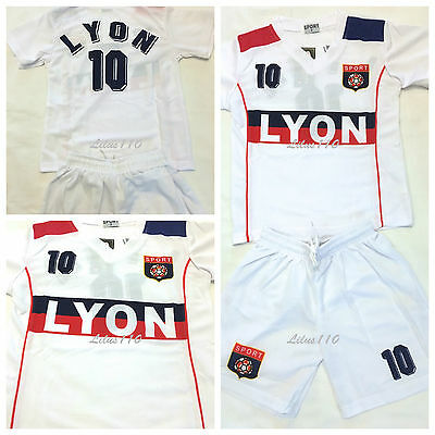 UNISEX LYON FOOTBALL KIT- Ages 2 years to 14 Years