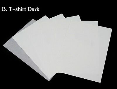 A4 Iron Heat Transfer Paper For Dark Cotton T-shirt