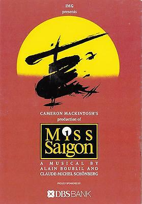 Miss Saigon musical NEW postcard! *Last one* from 2001