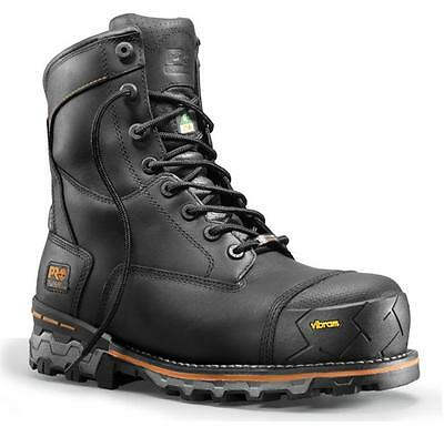 "Timberland 8"" Boondock Insulated Work Boot (Black) Size 8-13"