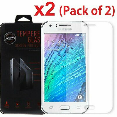 2x For Samsung Galaxy J7 (2015 Version) Premium Tempered Glass Screen Protector
