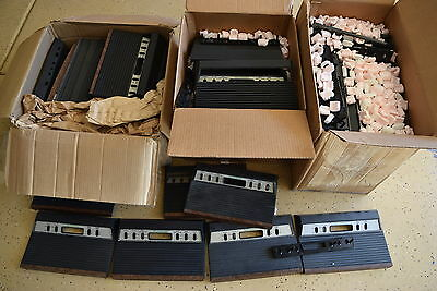Huge Lot Of 70 Atari 2600 Tele-Games Sears Tops Covers Lids Official OEM
