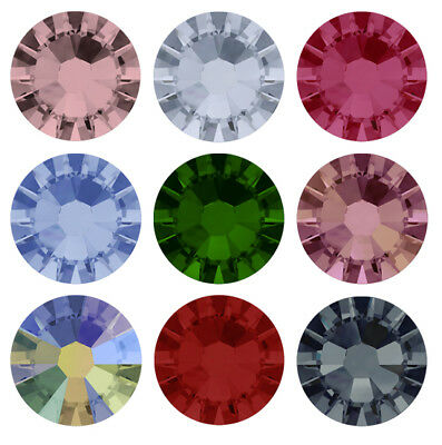 Wholesale Original pack Genuine SWAROVSKI 2058 Flat Back Crystals * All Colors