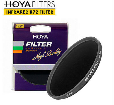 [HOYA] R72 Infrared Filter 58mm / Blocks Visible Light Up To 720nm