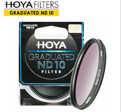 [HOYA] GRADUATED ND10 58mm Filter / 3 to 1 Stop Graduated ND Filter