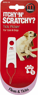 Mikki Tick Picker Removal Tool For Dogs And Cats