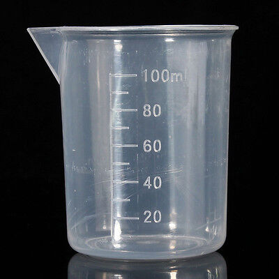 100ML Plastic Measuring Jug Cup Graduated Surface Cooking Bakery Kitchen Lab