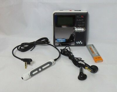 Sony net md walkman mz-n420d