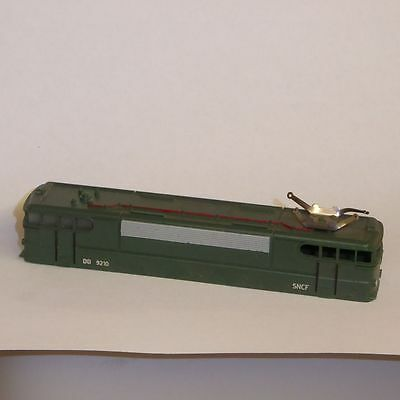 Piko Loc housing+Frame electric locomotive BB 9210 SNCF Ep. 4 used,GDR,