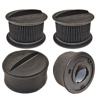 4x H12 Circular Filters for Bissell CleanView Vacuum Cleaners, 203-2587 203-7913
