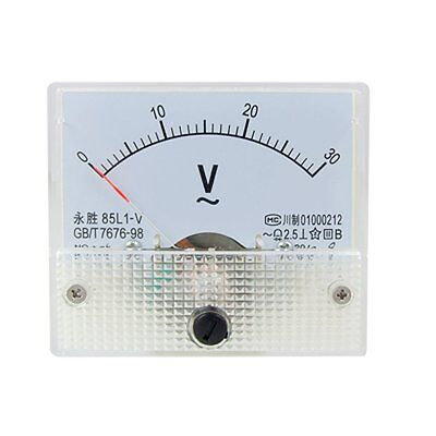 AC Analog Meter Panel 30V  Voltage Meter Voltmeters 85L1 0-30 V Gauge