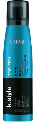 Lakme k.style Cool Top Ten 10-in-1 150 ml / 5.1 fl.oz. Bálsamo de acabado