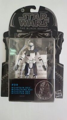 Star Wars Captain Rex Black Series Bsa09