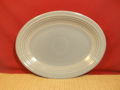 Homer Laughlin China Fiesta Periwinkle Blue Oval Platter 11 1/2""