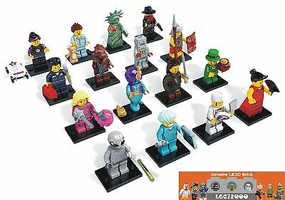 New LEGO 8827 Complete Set of 16 MINIFIGURES Series 6