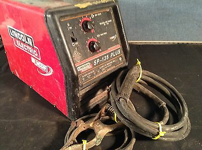 Lincoln Electric SP-135 Plus MIG Welder Wire Feeder