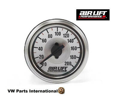 Air Lift Performance Dual Needle Gauge 200 PSI - Air Lift Ride Suspension Parts