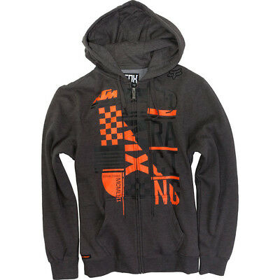 Fox - KTM Konstruct Zip Charcoal Hoodie - 2X-Large