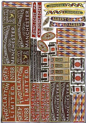 Waterslide Transfers Industrial Narrowboat Canal O Decals O ScaleM5