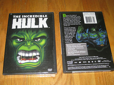 Brand New The Incredible Hulk Animated Series (DVD, 2003) RARE OUT OF PRINT DVD