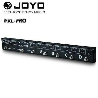 JOYO PXL-PRO Programmable Guitar Pedal Looper Control Station Pedals Switcher .