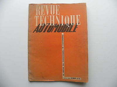revue technique automobile CITROEN 15 Six