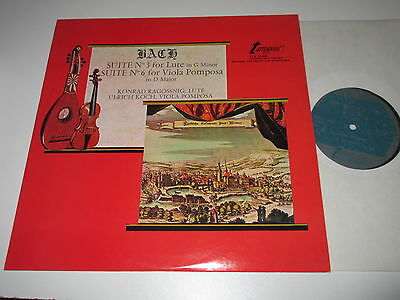 LP/BACH/SUITE 3+6/RAGOSSNIG/KOCH/turnabout TV-S 34430