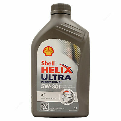 Shell Helix Ultra Professional AF 5W-30 5W30 Full Synth Engine Oil 1 Litre 1L