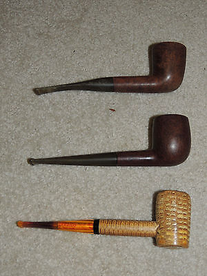 VINTAGE Lot of 6 Estate Smoking Pipe Westbrook Dr. Grabow Corncob