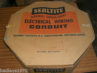 "Anamet Anaconda Sealtite EF 1/2"" 20mm PG16 60 Mtr Liquid Tight Flexible Conduit"