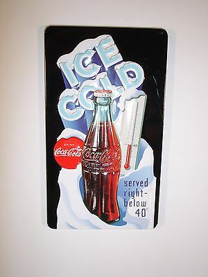 "Coca Cola Embossed ""Ice Cold"" Magnet by Ande Rooney"