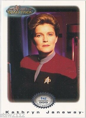 Star Trek Women Of Star Trek In Motion Archive Collection Ac3 Captain Janeway