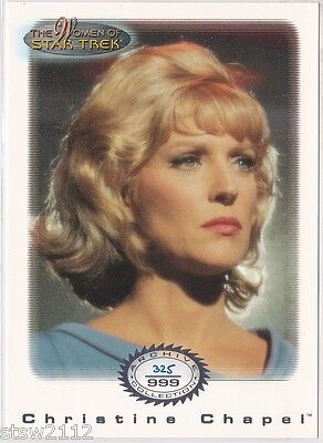 Star Trek Women Of Star Trek In Motion Archive Collection Ac7 Nurse Chapel