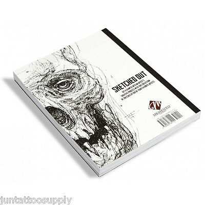 Tattoo Book Sketched Out A Collection of Sketches by 100 Artists Book Stencil