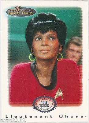 Star Trek Women Of Star Trek In Motion Archive Collection Ac15 Lt. Uhura