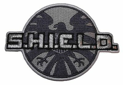 "Marvel Comics Avengers S.H.I.E.L.D. Embroidered 4"" Wide Patch 1st Quality Patch"