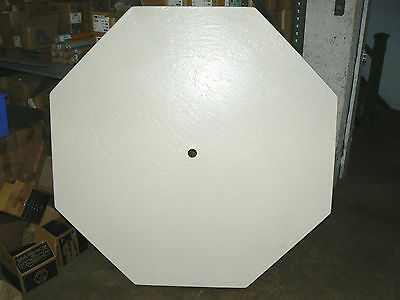 """Fiberglass Table Top x 60"""" Octagon Shaped with Center hole for Umbrella"""