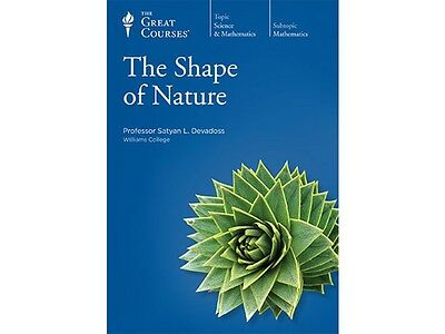 The New Great Courses The Shape of Nature 6 DVD and Guidebook Brand New Sealed