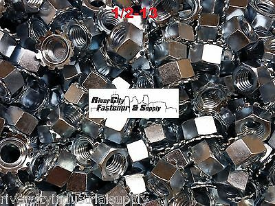 (50) 1/2-13 External Star Lock / Kep Nuts 1/2 x 13 Locking Keps Nut / Locknuts