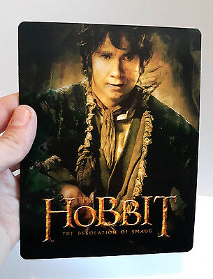 The Hobbit The Desolation of Smaug 3D lenticular Flip effect for Steelbook