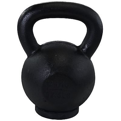 BodyRip 24KG FONTE KETTLEBELL EXERCICE FITNESS GYM FORCE TEINT MUSCLE