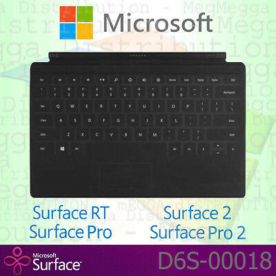 OFFICIAL Microsoft Surface RT / Pro / 2 TOUCH Cover GB English QWERTY Keyboard