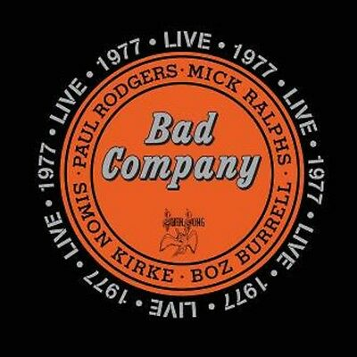 Bad Company - Live 1977 - New Double 180g Vinyl LP