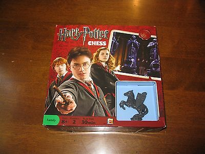 Harry Potter Chess Set By Mattel #r9315 (2009) (New And Sealed)