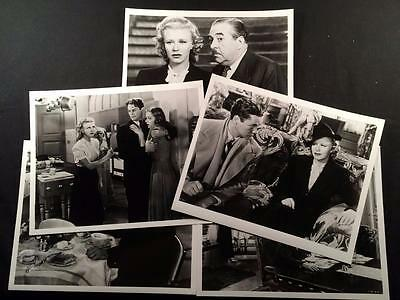 5 Fifth Avenue Girl Ginger Rogers Movie Still Photo Lot A96