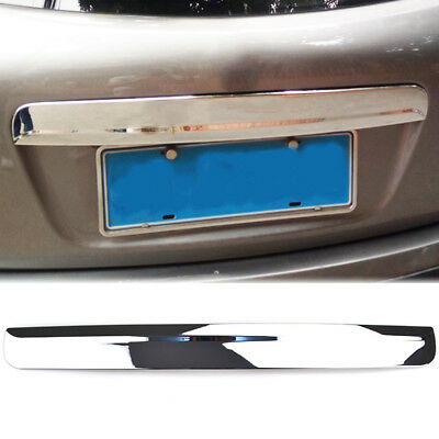 For Nissan Qashqai Chrome Rear Door Handle Tailgate Boot Grab Trim Cover Strip