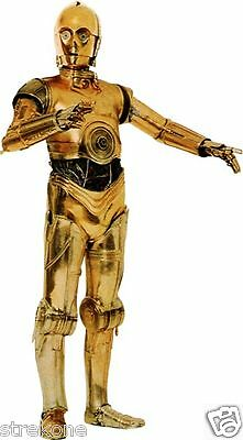 C3PO Protocol Droid STAR WARS Saga Robot - Large Window Cling Decal Sticker NEW
